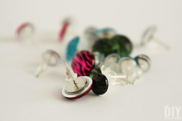 Transform scrapbook embellishments into beautiful earrings!