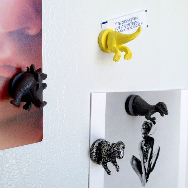 DIY Dinosaur Magnets