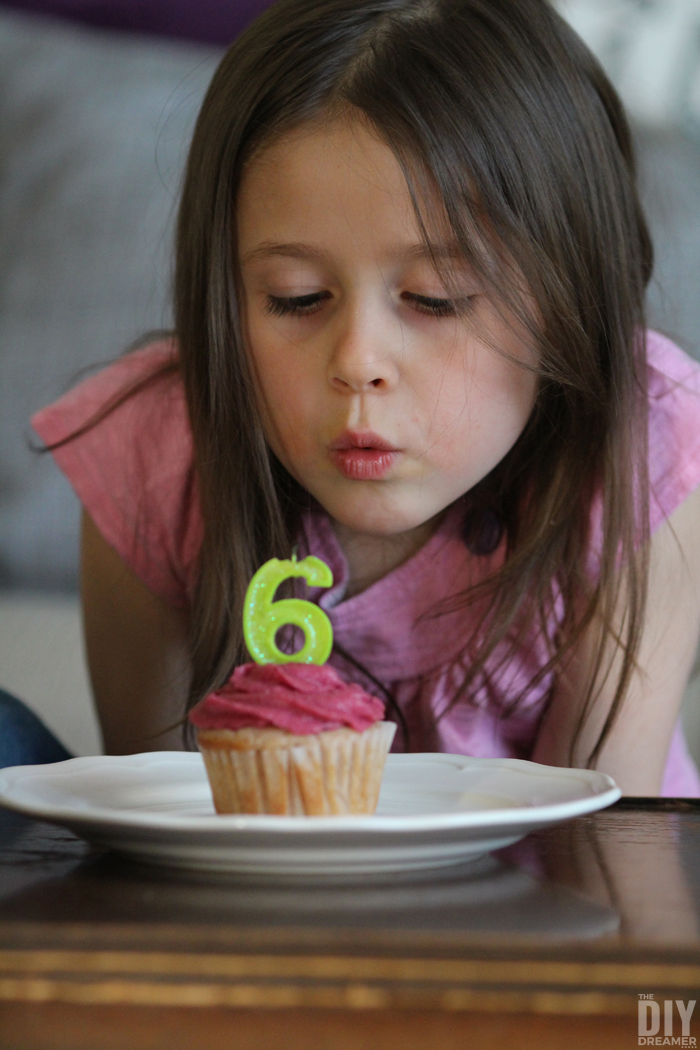 Capture the Moment - Birthday Photography. Blowing out the candle.