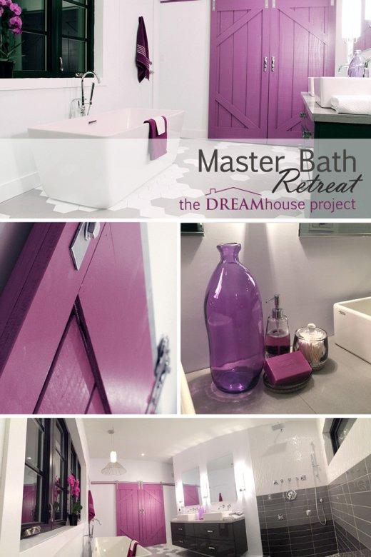 GORGEOUS Master Bath Retreat.