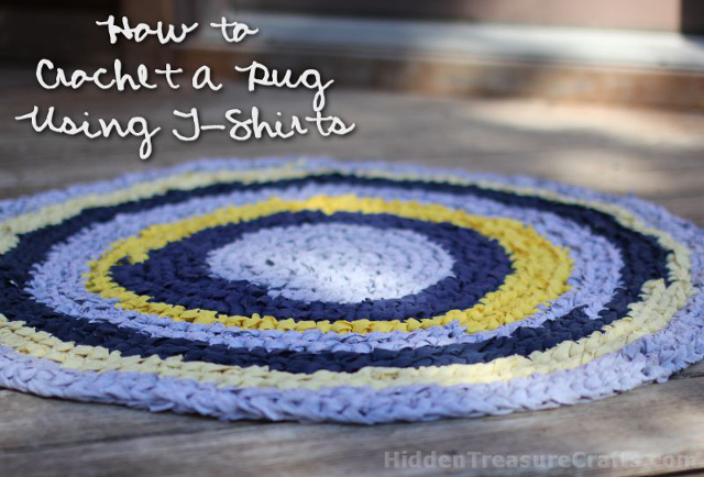 How to Crochet a T-Shirt Rug