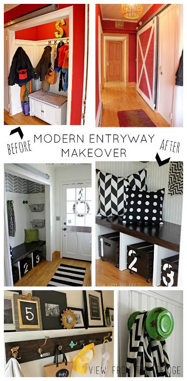 Modern Entryway Makeover