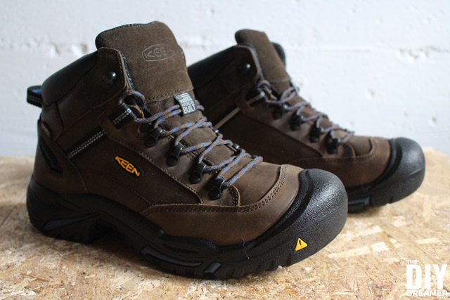 KEEN Utility Work Boots - Safety Footwear for DIYers