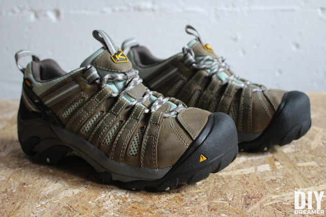 KEEN Utility work boots are perfect safety footwear for DIYers!