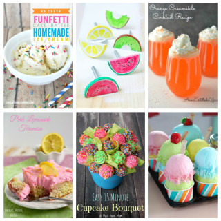 14 Refreshing Summer Treats and more! Yummy ice cream, cupcakes, slushies, and cute crafts too!