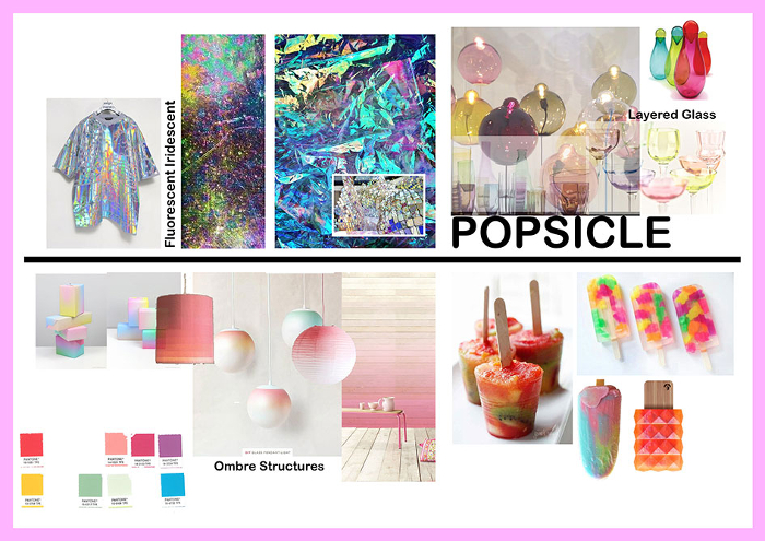 Trending Decor with Graham & Brown - The Popsicle Trend. The Popsicle Trend, this summer's trending decor! Add a splash of colors to your home decor.