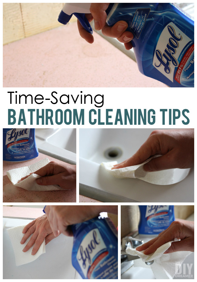 12 Time Saving Bathroom Cleaning Tips
