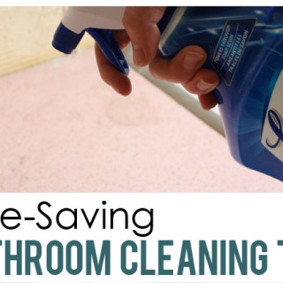 12 Time-Saving Bathroom Cleaning Tips