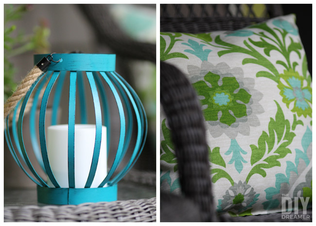 Bright Lantern and Cushion