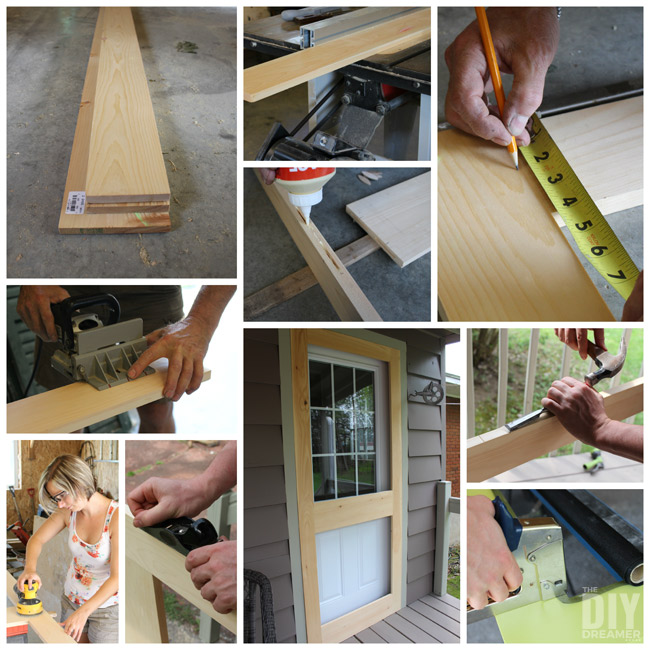 & How to Build a Screen Door - DIY Screen Door