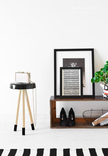 Super trendy DIY Concrete stool
