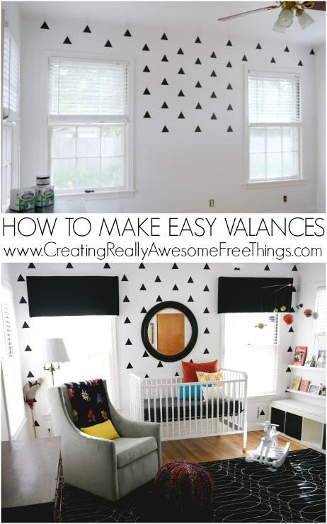 How to make easy valances