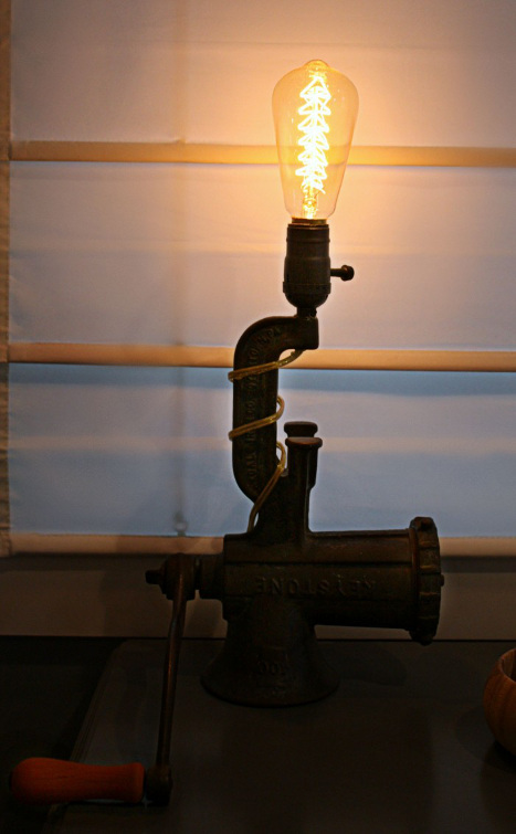 Building an Industrial Table Lamp