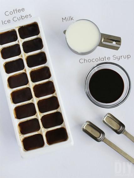 Cafe Mocha Frappe Ingredients