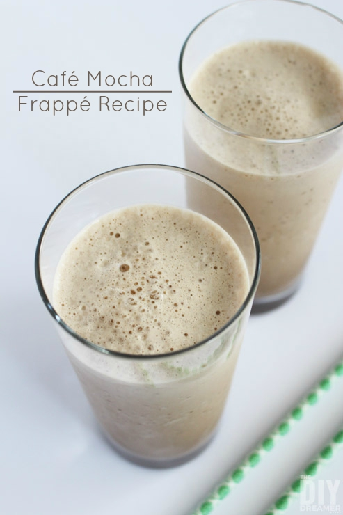 Delicious Cafe Mocha Frappe Recipe