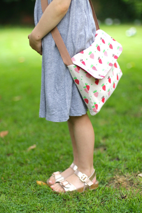 DIY Kids Messenger Bag