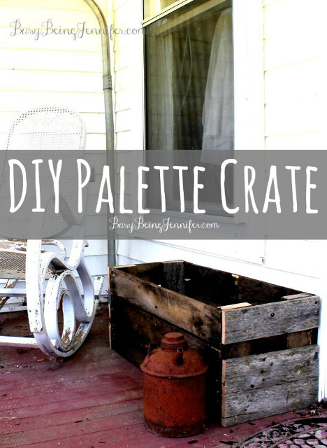 DIY Palette Crate