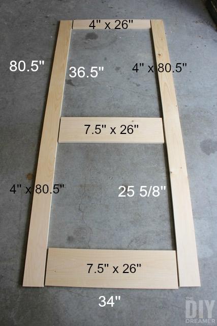 Screen door Design Dimensions