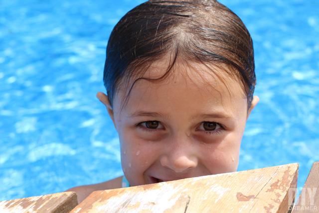 Summer fun at the pool!
