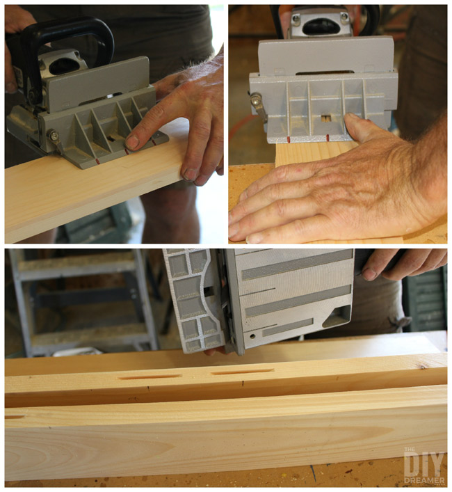 Using A Plate Joiner.