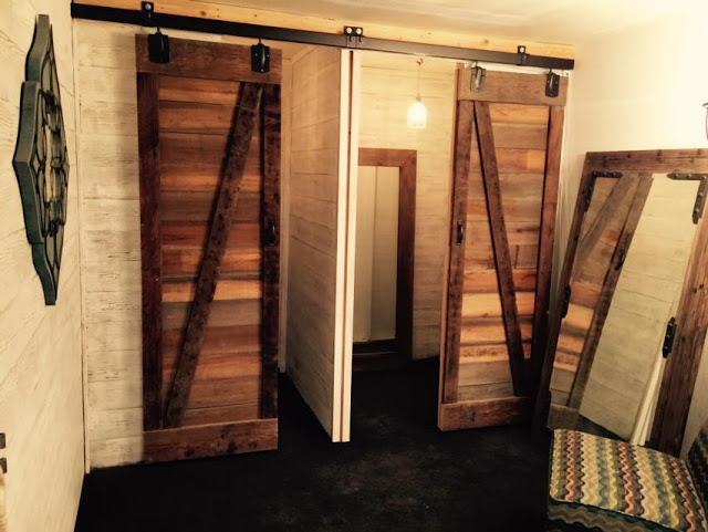 DIY Dressing Rooms