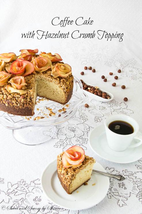 Hazelnut Crumb Coffee Cake