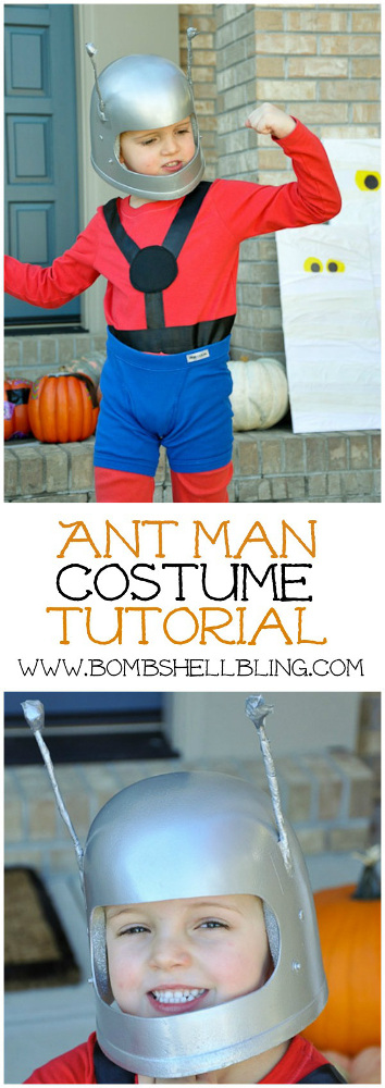 The Avengers: DIY Ant Man Costume