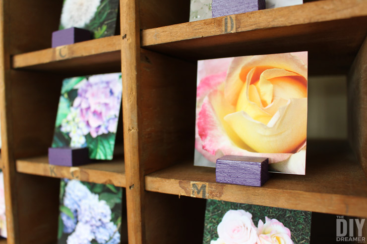 DIY Instagram Photo Stands. Do you have a bunch of beautiful Instagram photos in your phone that you would like to display in your home? Awesome! Then this Instagram Photo Stand tutorial is for you!