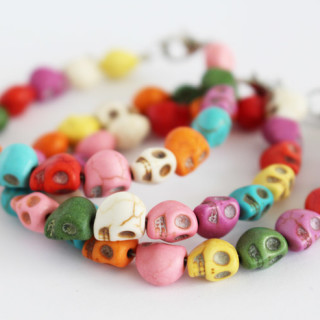 Colorful Skull Bracelets – Easy DIY Jewelry Tutorial
