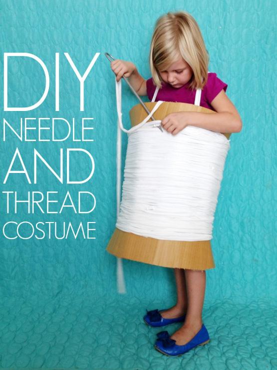 DIY Needle Thread Costume