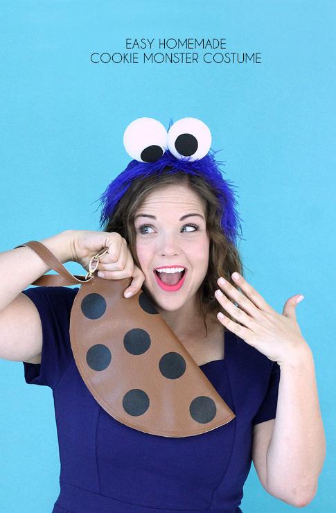 Easy Homemade Cookie Monster Costume
