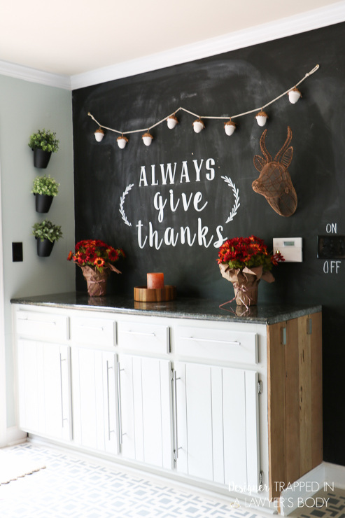 Fall Chalkboard Art and Decor