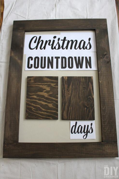 Days until Christmas Sketch