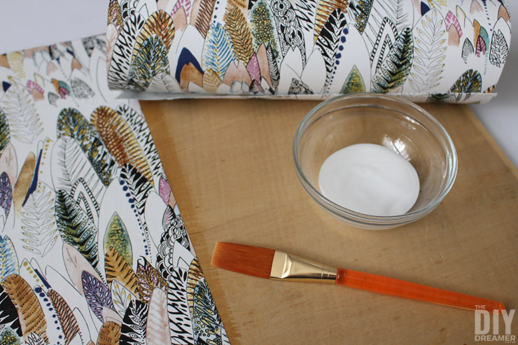 how to line drawers with wallpaper graham amp brown
