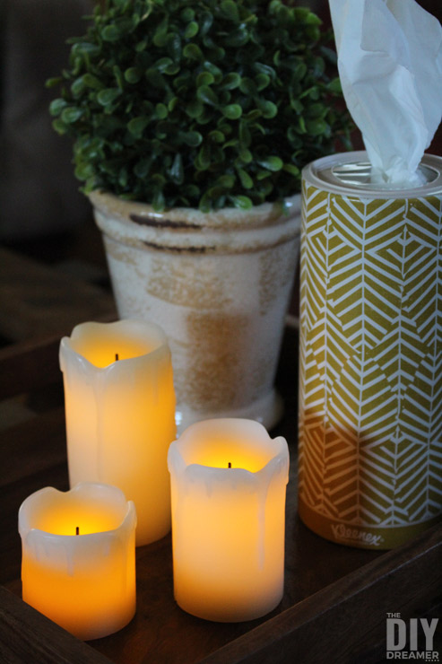 Beautiful sleek and elegant Kleenex Perfect Fit canister. Share Kleenex© Care