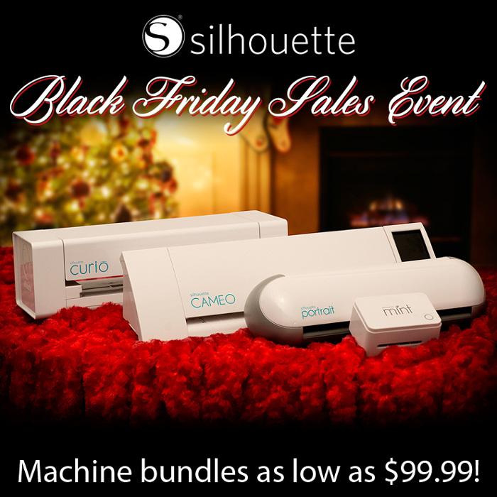 Silhouette Black Friday Machine Bundles