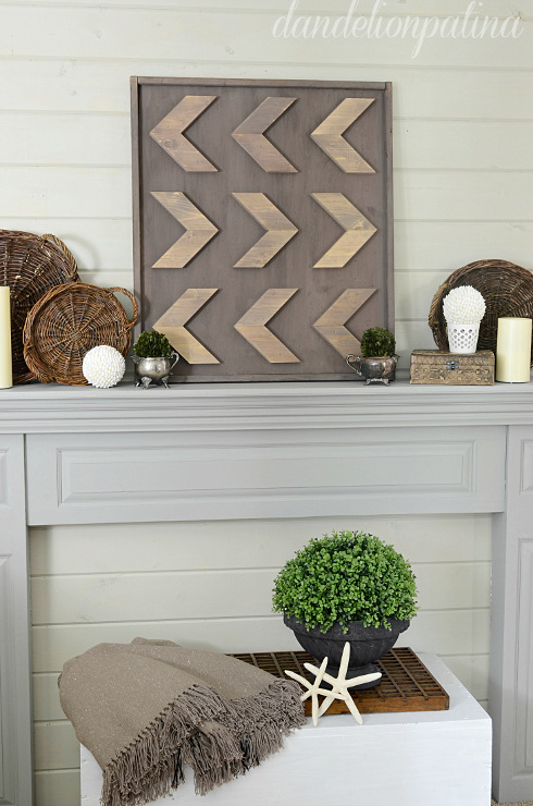 How To Make Rustic Style Arrow Art