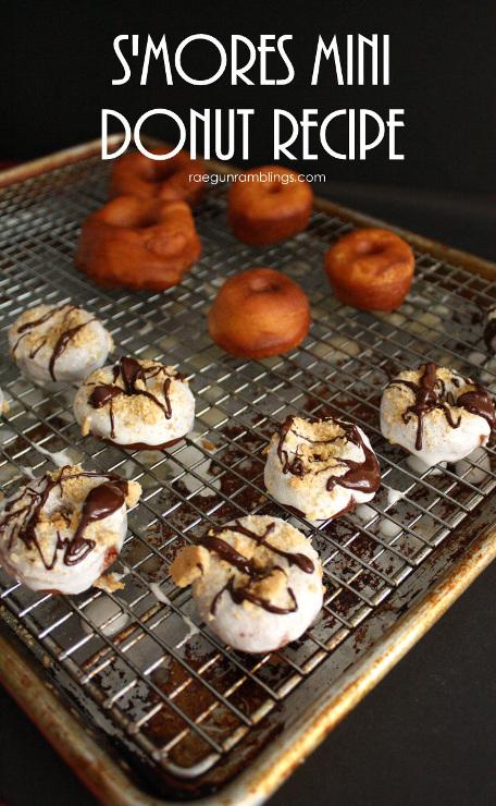 S'mores Mini Donut Recipe