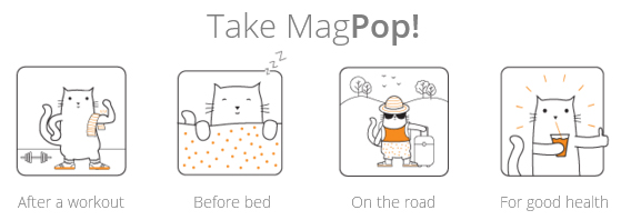 Orange Naturals introduces MagPop! Taking magnesium is a big favour to your body. And now, there's a refreshing fun, fizzy way to get it.
