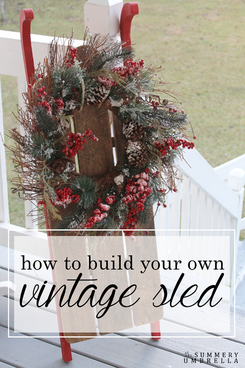 How to Build a Vintage Sled