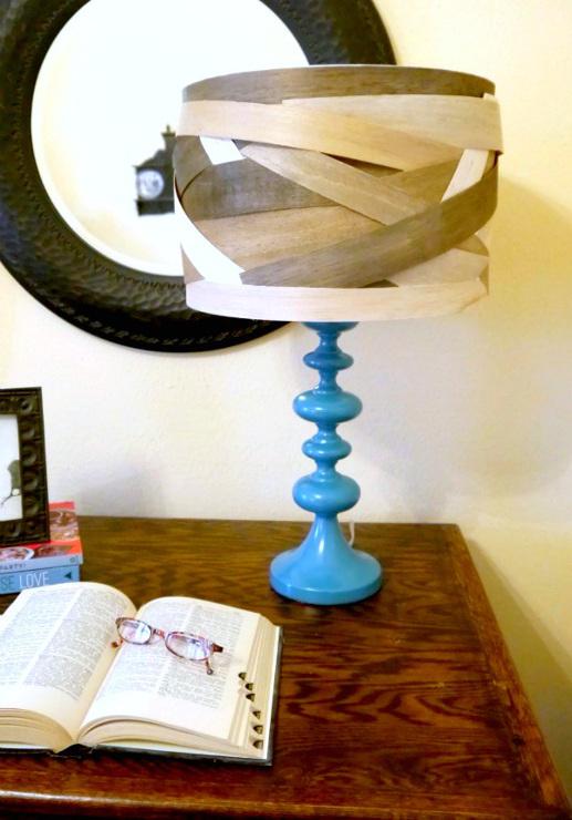 DIY Lamp Shade balsa wood