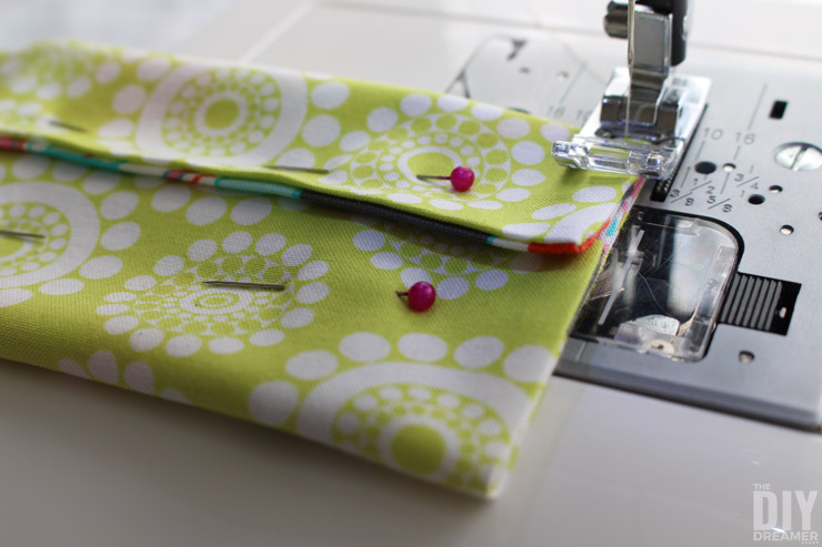Learning to sew tissue pouches