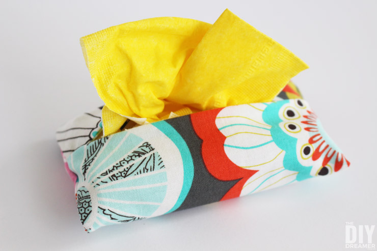 Oh so cute double sided Tissue Cozy!