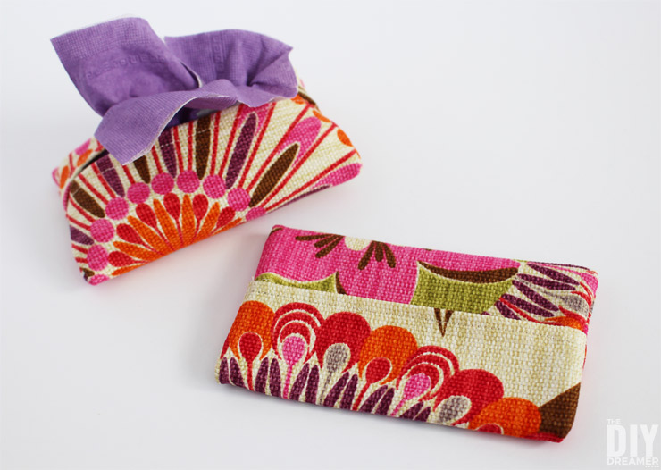 Tissue Pouch Simple Sewing Tutorial.
