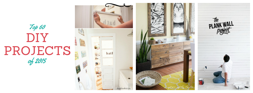 Top 60 DIY Projects of 2015 with Step by Step Tutorials