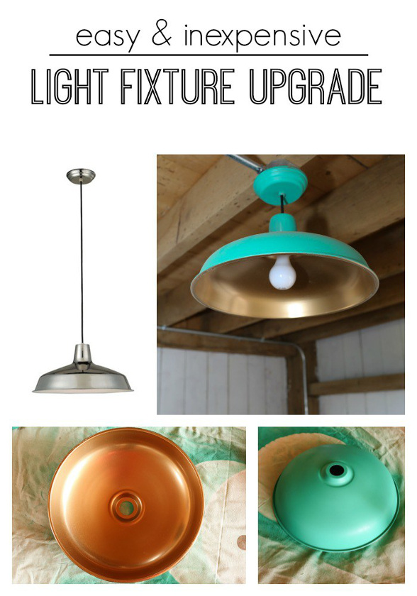Light Fixture Hack on the cheap