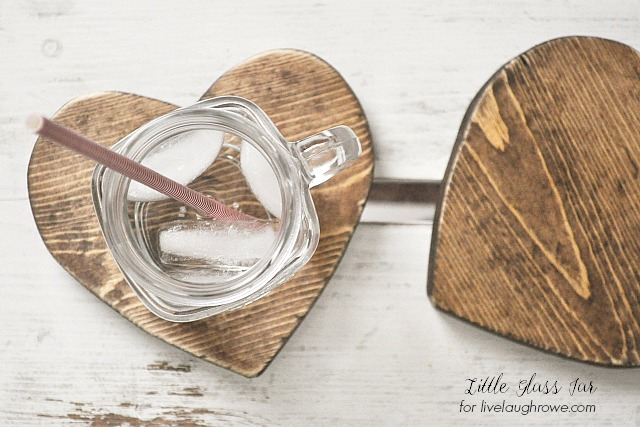 Rustic Wood Drink Coaster
