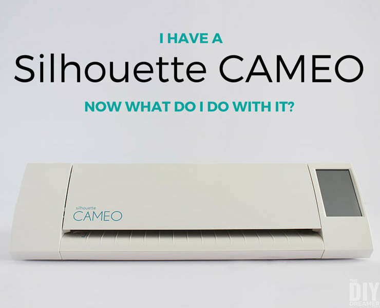 I have a Silhouette CAMEO. YAY! But now what do I do? First thing to do is follow these few steps! They will help you get started to creating your first Silhouette project.