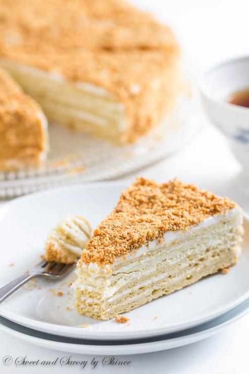 "Russian Cake ""Napoleon"""