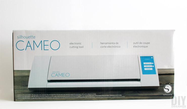 Silhouette CAMEO in the box